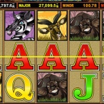 Screenshot image of the Mega Moolah slot online game