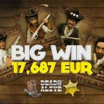 Big Win 17,000 Euros on Dead or Alive slot at BitStarz casino