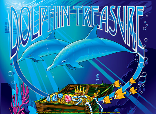 Dolphin Treasure slots game