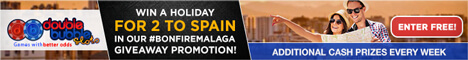 Win a holiday for 2 to Spain