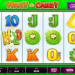 Fruit VS Candy slot machine from Microgaming
