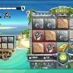 home screen of Castle Builder 2 slot from Microgaming