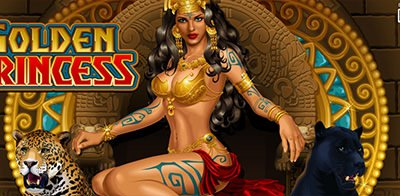 Golden Princess slot machine banner