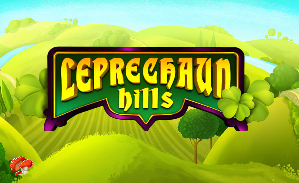 Leprechaun Hill slot logo