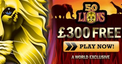 50 Lions slots review